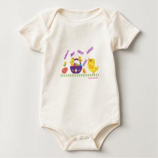 Body Para Bebê Minha primeira páscoa!