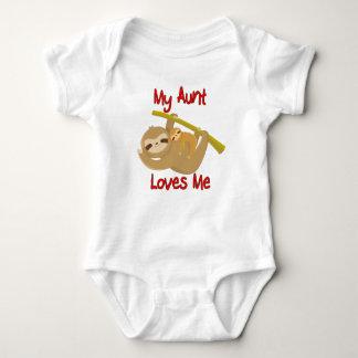 Body Para Bebê Minha tia Amor Me Preguiça