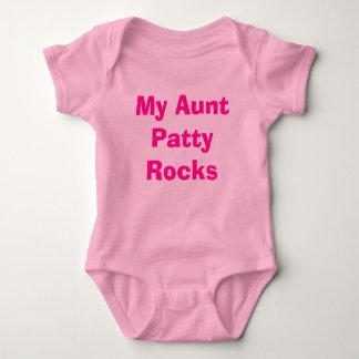 Body Para Bebê Minha tia Rissol Rocha
