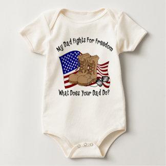 Body Para Bebê Minhas lutas do pai para a liberdade