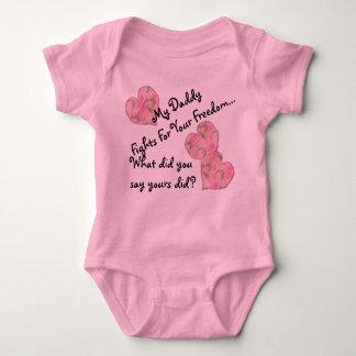 Body Para Bebê Minhas lutas do pai para sua liberdade