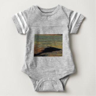 Body Para Bebê misturas da cor do deserto