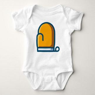 Body Para Bebê Mitene do forno