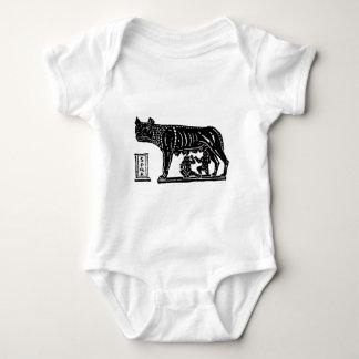 Body Para Bebê Mitologia romana de Romulus e de Remus