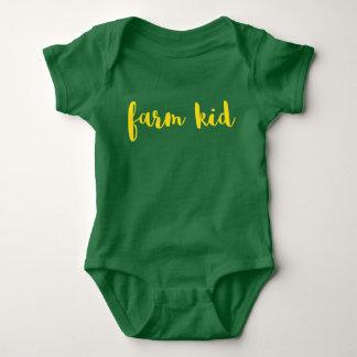 Body Para Bebê Miúdo da fazenda - bebê