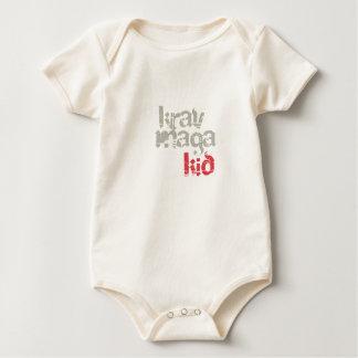 Body Para Bebê Miúdo de Krav Maga