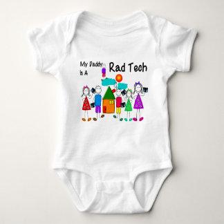 Body Para Bebê Miúdos da tecnologia da radiologia e t-shirt das