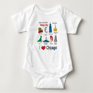 Body Para Bebê Miúdos de Chicago