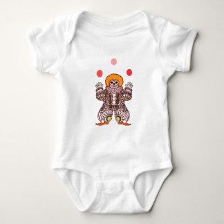 Body Para Bebê Mnanipulação do palhaço
