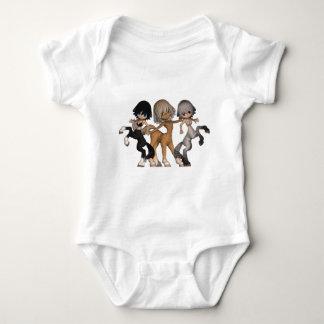 Body Para Bebê Modelo infantil do Creeper - personalizado