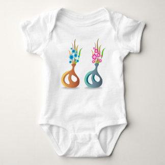 Body Para Bebê ModernVaseFlowers