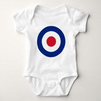 Body Para Bebê Modificação - Roundel clássico - alvo do tiro ao