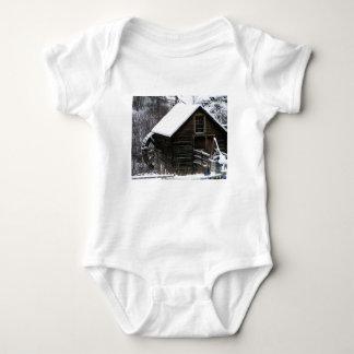 Body Para Bebê Moinho da munição de Keremeos no inverno