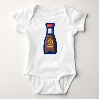Body Para Bebê Molho de soja