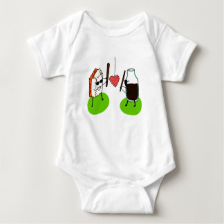 Body Para Bebê Molho do sushi e de soja