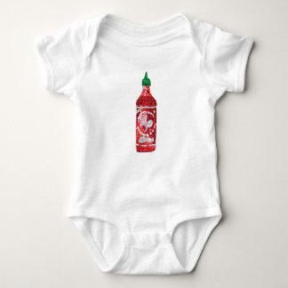 Body Para Bebê molho picante do sequin