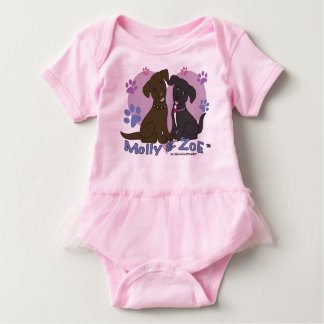 Body Para Bebê Molly & Zoe