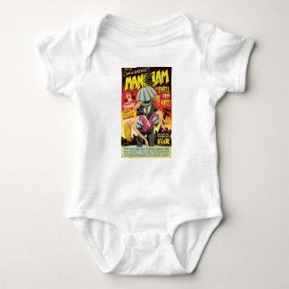 Body Para Bebê Moluscos do homem