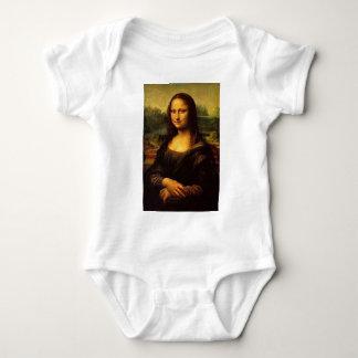Body Para Bebê Mona Lisa