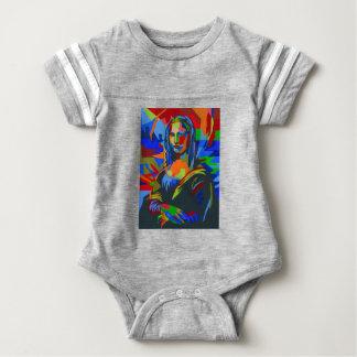 Body Para Bebê Mona Lisa Wpap