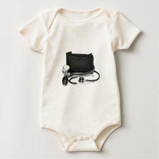 Body Para Bebê Monitor profissional preto da pressão sanguínea no