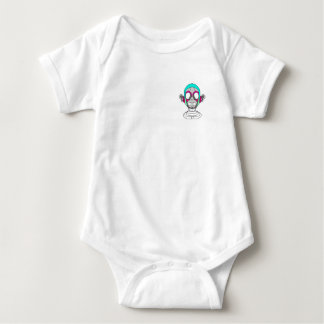 Body Para Bebê Monk-D Baby