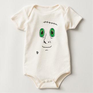 Body Para Bebê Monstro caseiro