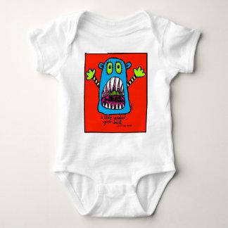 Body Para Bebê Monstro da cama