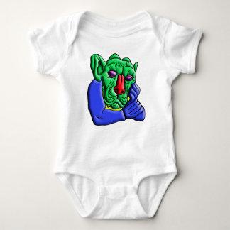 Body Para Bebê Monstro de pensamento
