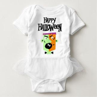 Body Para Bebê Monstro Feliz Halloween Happy Monster Baby