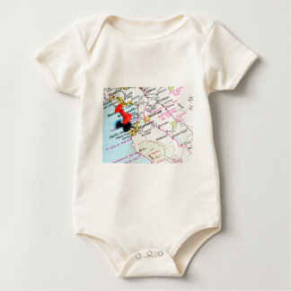 Body Para Bebê Monterey, Califórnia