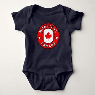 Body Para Bebê Montreal Canadá