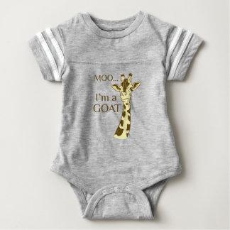 Body Para Bebê MOO im uma cabra