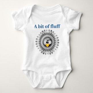 Body Para Bebê mordido do fluff