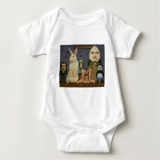 Body Para Bebê Mostra arrepiante