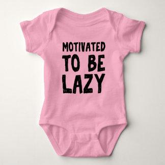 Body Para Bebê Motivado para ser preguiçoso
