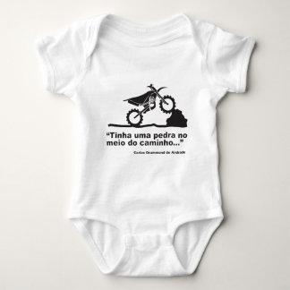 Body Para Bebê Moto Pedra