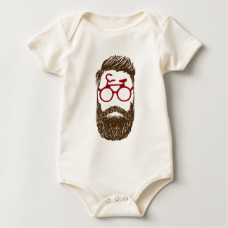 Body Para Bebê Motociclista do hipster