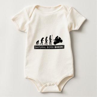 Body Para Bebê Motociclista nascido natural
