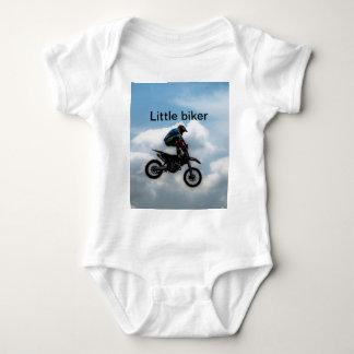Body Para Bebê Motociclista pequeno