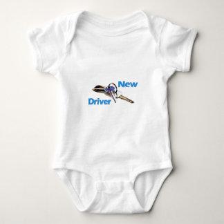 Body Para Bebê Motorista novo
