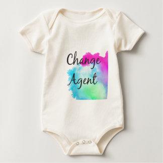 Body Para Bebê Mude o agente