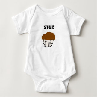 Body Para Bebê Muffin do parafuso prisioneiro para meninos