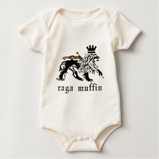 Body Para Bebê Muffin Judah de Raga