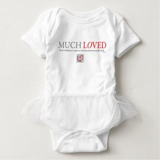 Body Para Bebê MUITO AMOU - o bodysuit do tutu do bebé