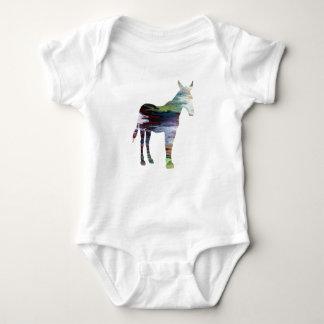Body Para Bebê Mula