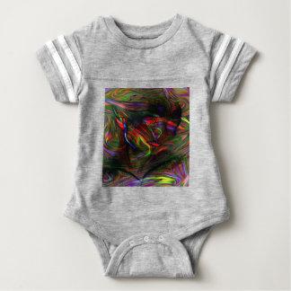 Body Para Bebê Mulher abstrata dois