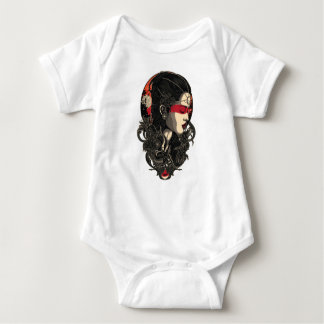 Body Para Bebê Mulher da ascensão Sun