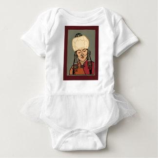 Body Para Bebê Mulher de Turkic