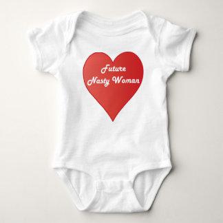 Body Para Bebê Mulher desagradável futura